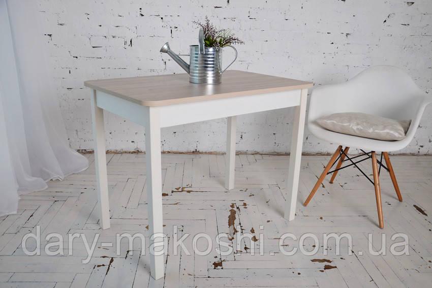 Стол Классик с прямыми деревянными ногами 93 см х 60см х 76 см