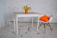 Стол Классик с фигурными деревянными ногами 93 см х 60см х 76 см, фото 1