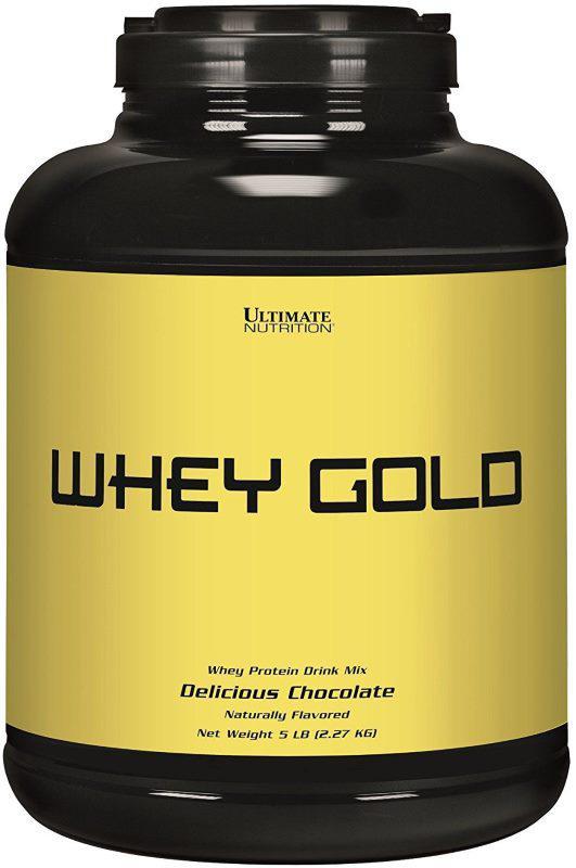 UltN Whey Gold 2.27 кг - chocolate