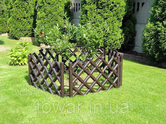 Садовый заборчик 3.5 метра ограждение