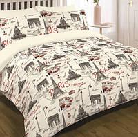 Комплект постельного белья, полуторный ранфорсViluta А12599