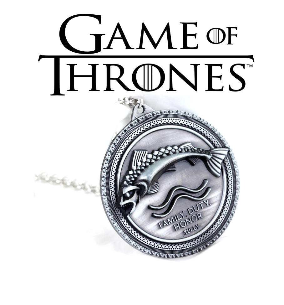 Брелок Герб Талли Игра Престолов Game of Thrones кулон