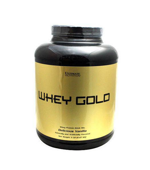 UltN Whey Gold 2.27 кг - vanilla