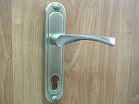 Ручка дверная TRODOS 85-10 старая бронза