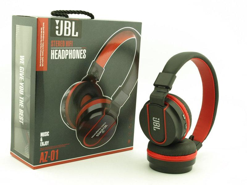 Bluetooth наушники JBL AZ-01 Wireless Headphones Extra Bass