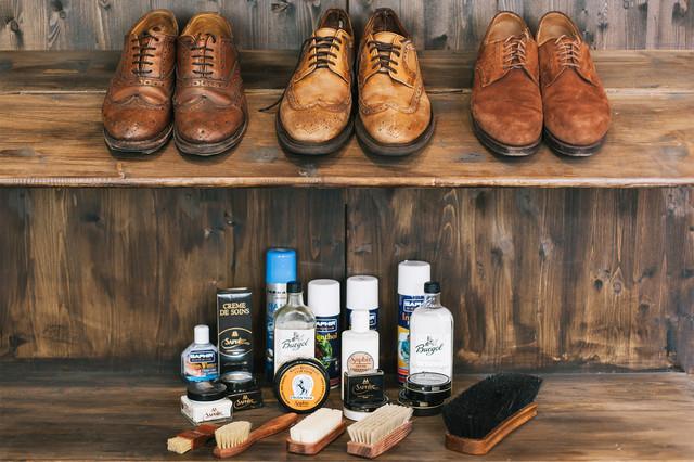 Наборы для ухода за обувью