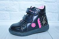 Демисезонные ботинки на девочку тм Том.м, р. 22,24, фото 1
