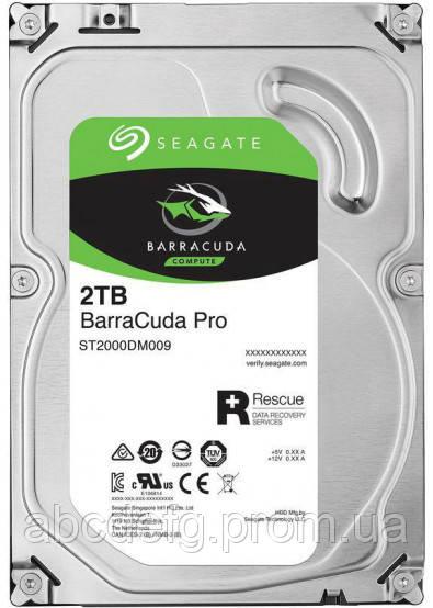 """Жесткий диск Seagate Barracuda HDD 3.5""""- 2TB"""