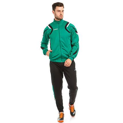 Костюм тренировочный Europaw SEL зелено-черный, фото 2