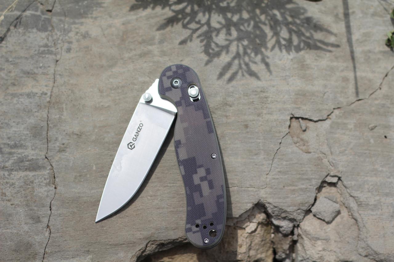 Туристический нож Ganzo (Пиксель) G727M-CA