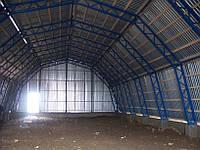 Будівництво арочного складу вторсировини 15*27*7,5