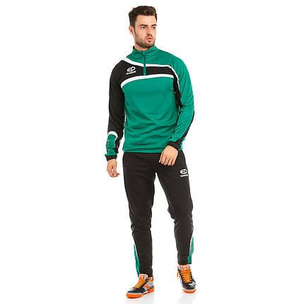 Костюм тренировочный Europaw TeamLine зелено-черный, фото 2