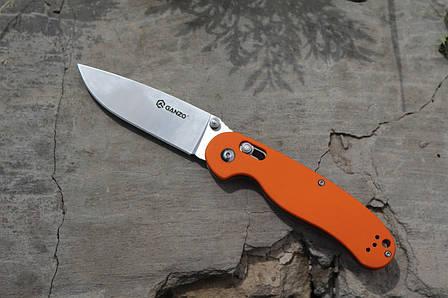 Туристический нож Ganzo (Пиксель) G727M-OR, фото 2