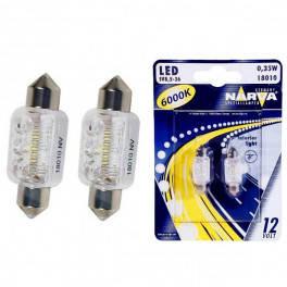 LED лампы C5W Narva 18010 Festoon