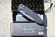 Туристический нож Ganzo (black) G740-BK, фото 2
