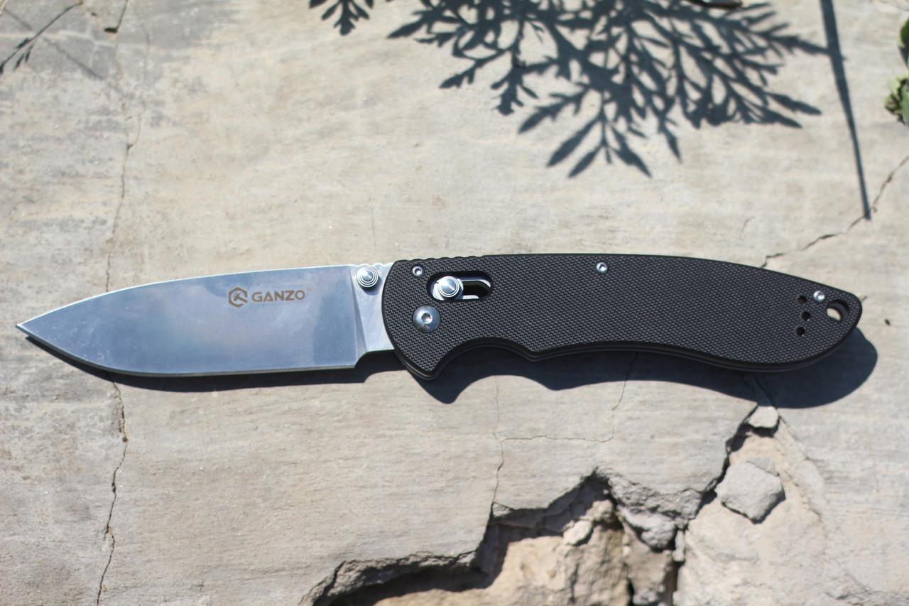 Туристический нож Ganzo (black) G740-BK