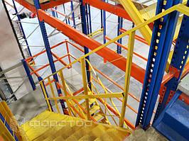 Надежные металлические лестницы.