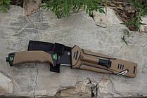 Нож выживания Ganzo (Coyote) G8012DY, фото 3