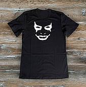 Мужская футболка  Джокер Joker черная  (РЕПЛИКА)
