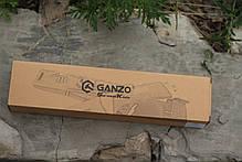 Нож выживания Ganzo (Green) G8012LG, фото 2