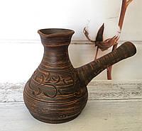 Глиняная турка 500 мл, фото 1
