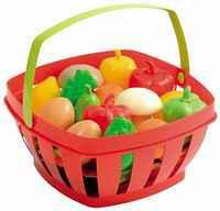 Детская корзина с продуктами, 15 аксессуаров Ecoiffier