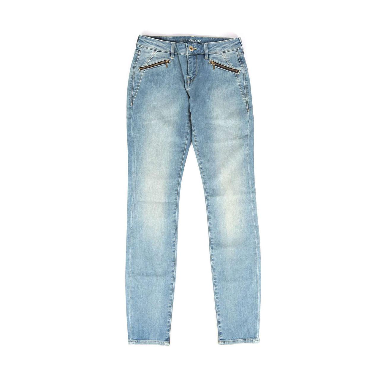 Женские джинсы Geox W5230A LIGHT BLUE