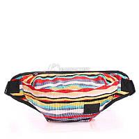 Женская сумка на пояс POOLPARTY (bumbag-velvet-red)