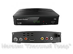 ТВ-ресивер DVB-T2 WORLD VISION T55D