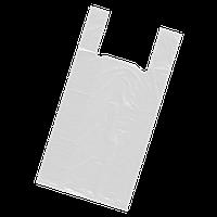 Пакет белый Майка 40*60 100шт 25 мкм