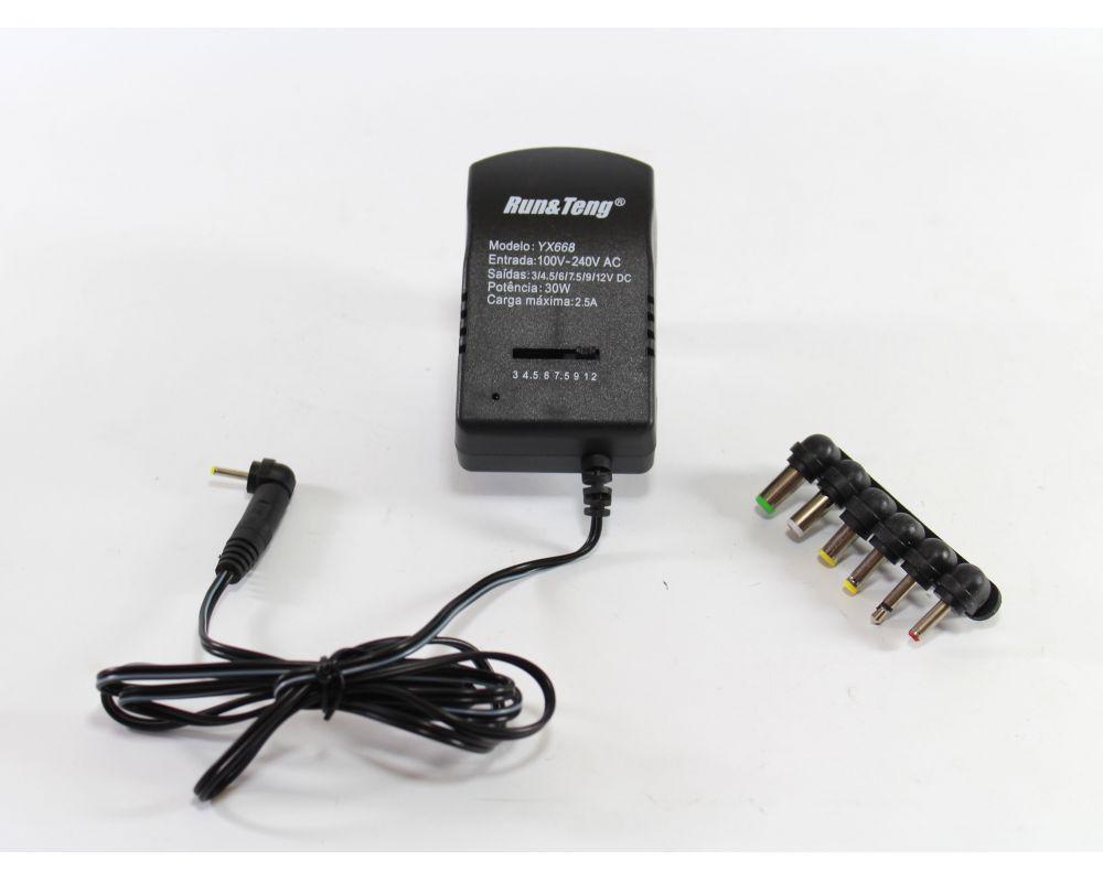 Универсальный сетевой адаптер 12V 3А 7in1 668, блок питания, зарядное устройство