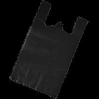 Пакет майка 50*90 50шт черный 40 мкм