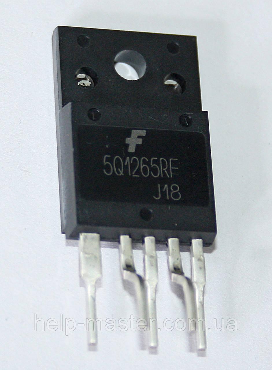 Мікросхема KA5Q1265RF; TO-3PF-5L.