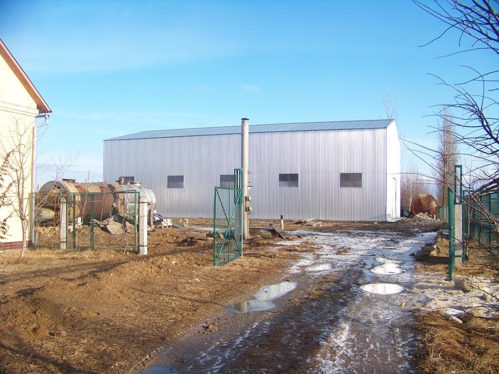 Будівництво складського приміщення 15*30*7.