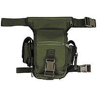 Тактическая набедренная сумка MFH 30701B цвет олива