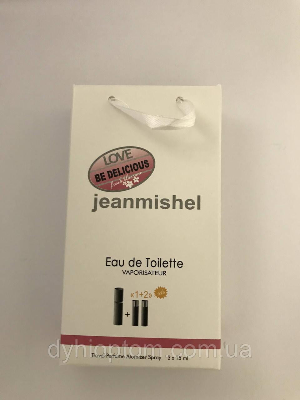 Женские мини духи jeanmishel Love Be Delicious Fraiche Blossom 45ml