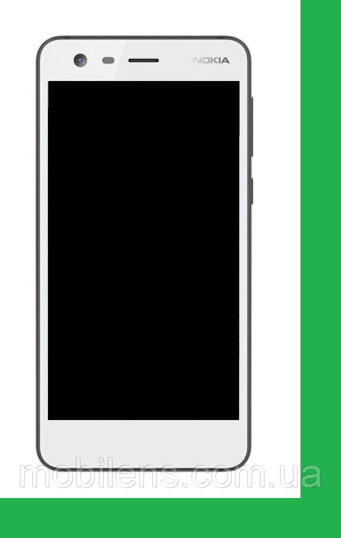 Nokia 2 Dual, TA-1029, TA-1035 Дисплей+тачскрин(сенсор) белый
