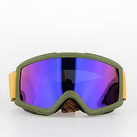 Горнолыжная маска Burton Anon Helix 2.0 Orange Blue Cobalt+сменный фильтр