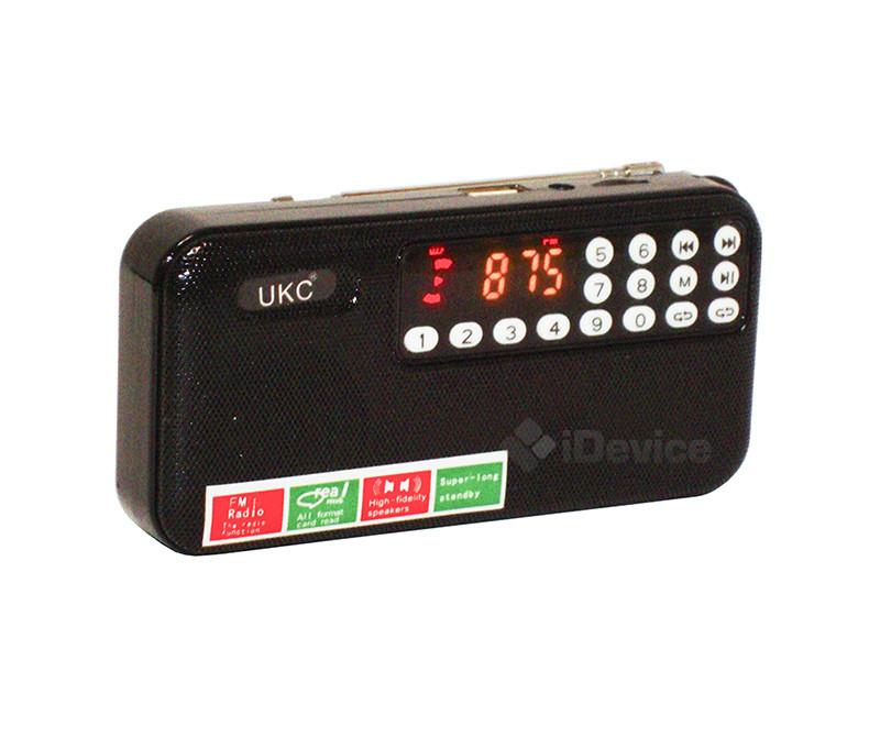 Радиоприёмник UKC U7 с диктофоном