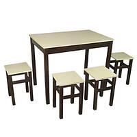 Кухонный набор: Стол с табуретками, Стол со стульями