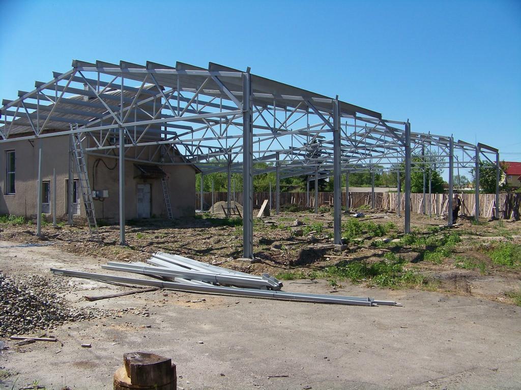 Будівництво виробничого приміщення.
