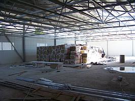 Будівництво виробничого приміщення. -1