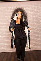 Куртка женская парка на меху,44-54р. РАЗНЫЕ ЦВЕТА (код Дина)