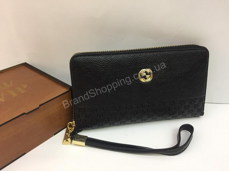 de490be6ab67 Шикарный кошелек-клатч Gucci в черном цвете арт 20134 - купить по ...
