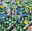 """Конструктор Bela 10734 Майнкрафт """"Подводная крепость"""" аналог лего 21136, 1134 деталей., фото 3"""