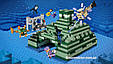 """Конструктор Bela 10734 Майнкрафт """"Подводная крепость"""" аналог лего 21136, 1134 деталей., фото 4"""