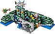"""Конструктор Bela 10734 Майнкрафт """"Подводная крепость"""" аналог лего 21136, 1134 деталей., фото 5"""