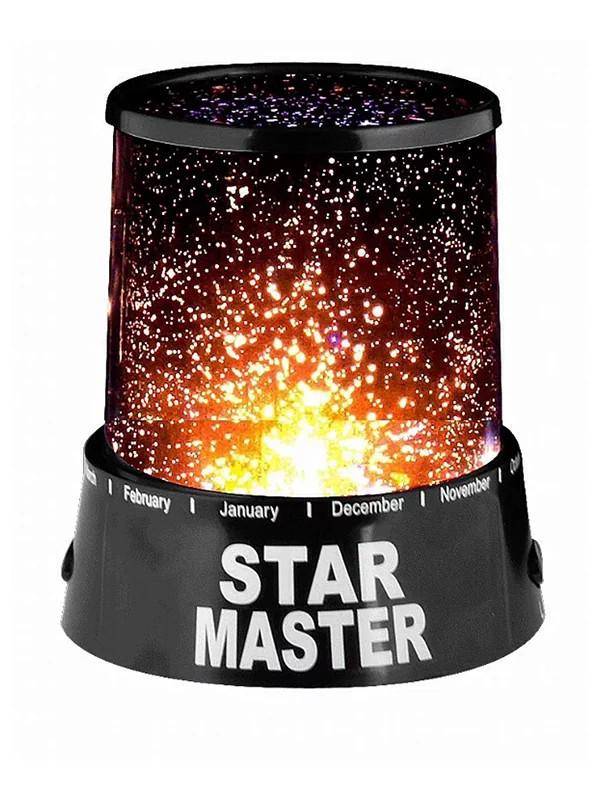 Ночник-проектор Звездное небо. Проектор звездное небо StarMaster