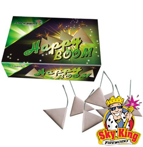 Петарда треугольник Happy Boom 10 шт.