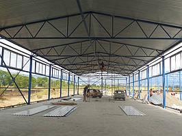 Будівництво заводу 4000м.кв.для легкої промисловості. -1